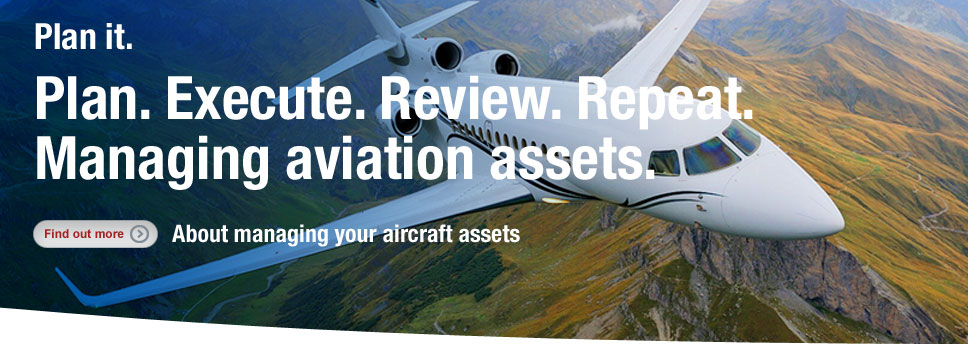 Learn how to manage your aviation assets - get more information