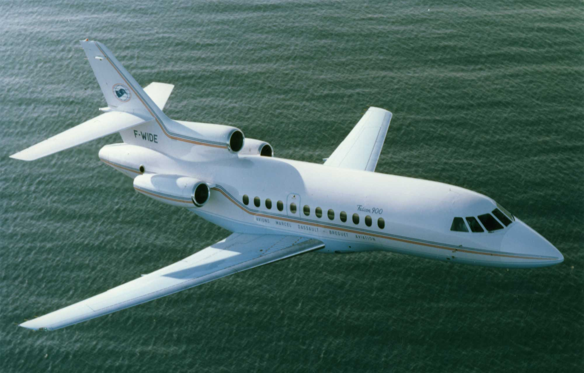 Related model: Dassault Falcon 900C