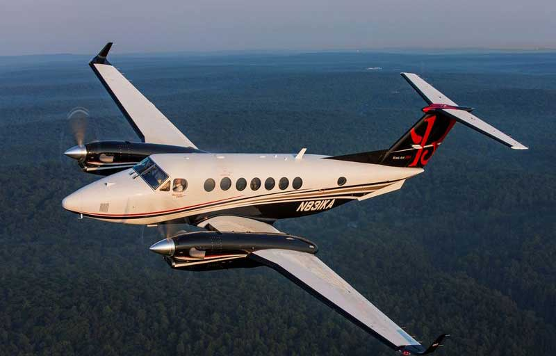 Beech King Air 350i Banner