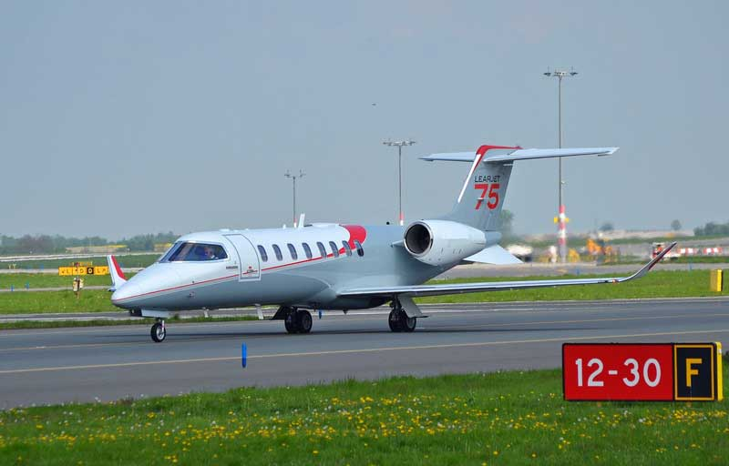 Related model: Bombardier Learjet 75