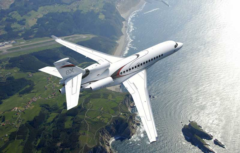 Related model: Dassault Falcon 8X