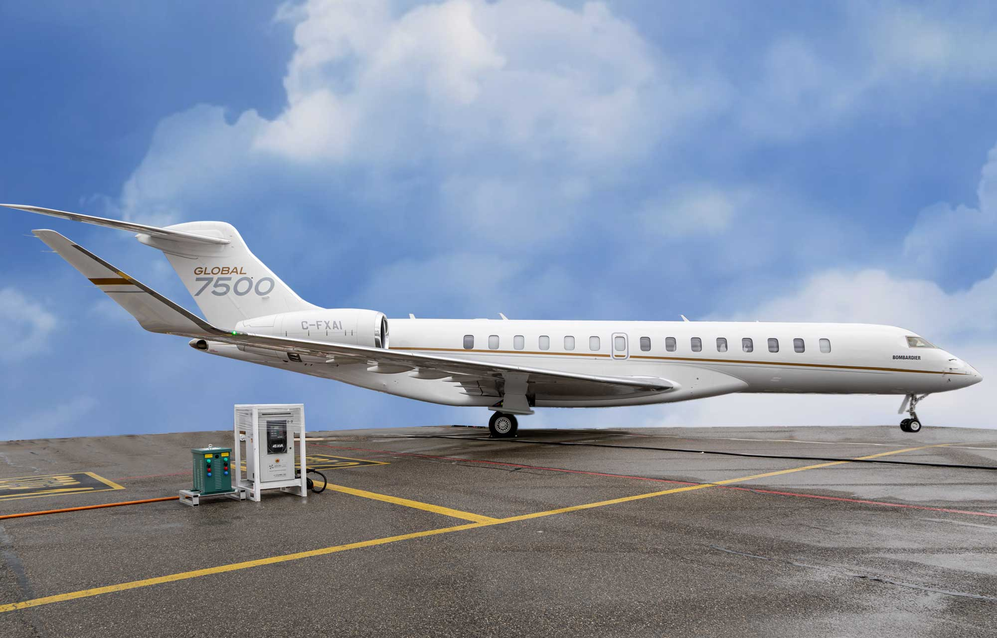 Related model: Bombardier Global 7500