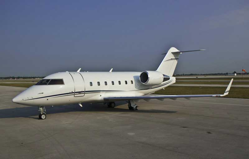 Bombardier CL 601-3R Banner