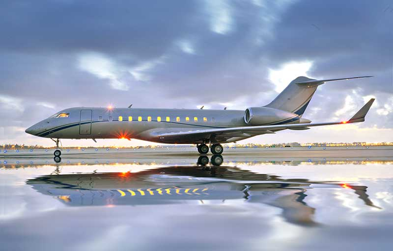 Seeking Bombardier Global Express