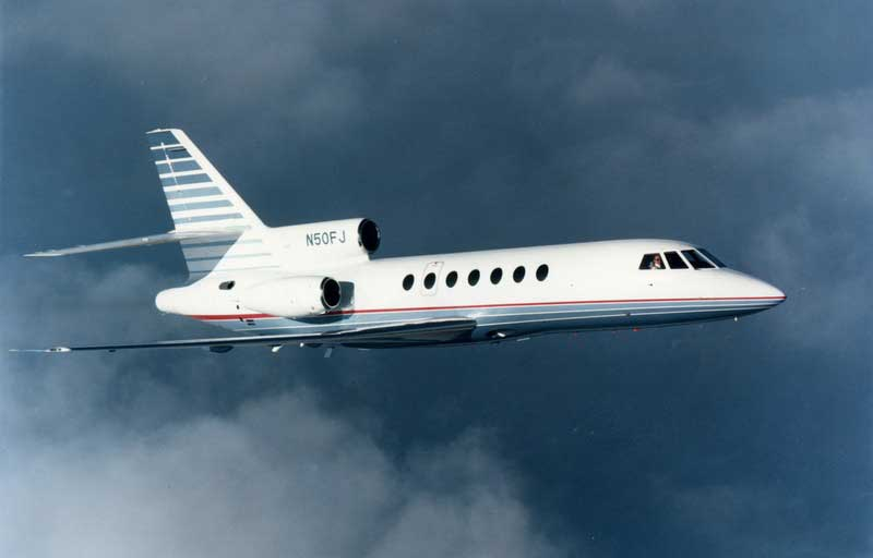 Related model: Dassault Falcon 50