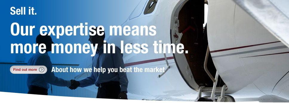 Sell your aircraft to buyers world wide - see how