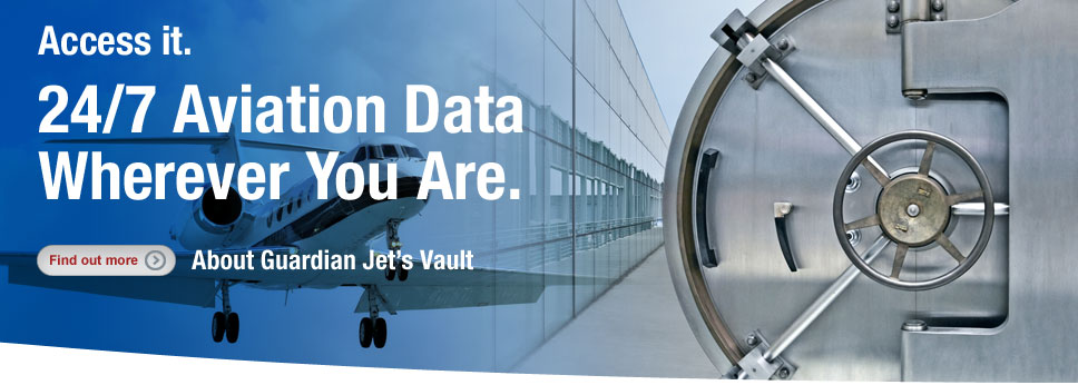Easy access to your aircraft value and other important data - find out more