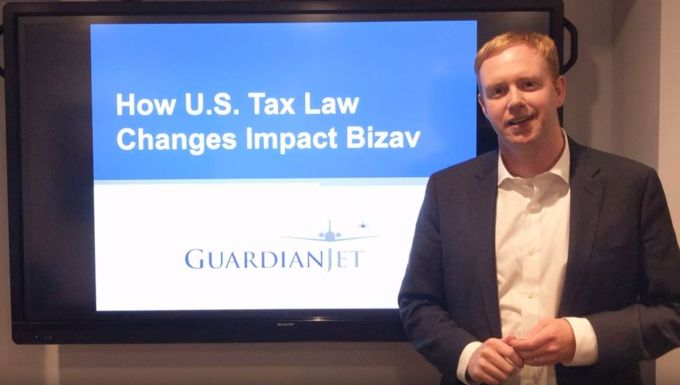 How Will the New U.S Tax Laws Affect Business Aviation - video
