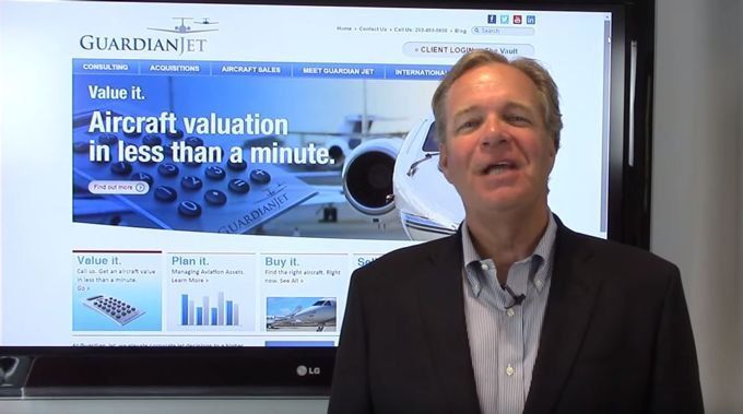North Texas Business Aviation Association Visit - video