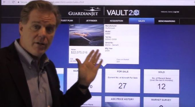 2018 Vault 2.0 Online Asset Management and Brokerage Tool by Guardian Jet - video